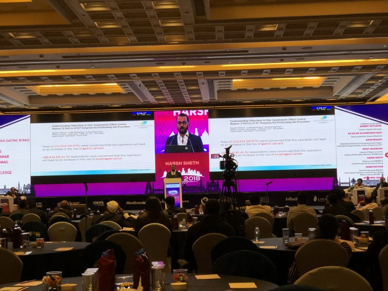 Keynote talk at National Confernce on obesity surgery, OSSI 2018, Chennai, India