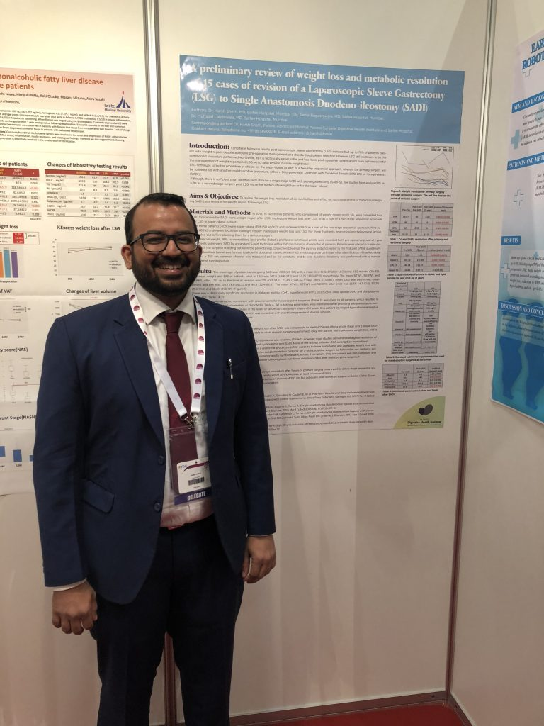 Poster presentation at World congress of obesity surgery IFSO 2018, Dubai, UAE
